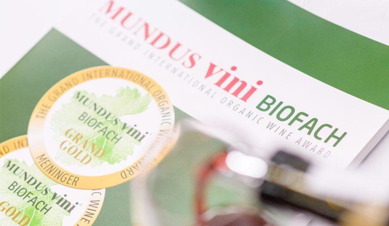 12. Großen Internationalen Bioweinpreis MUNDUS VINI BIOFACH 2021