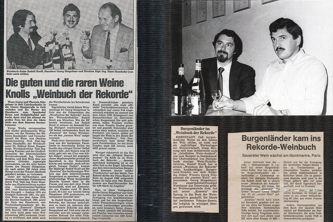 Georg Stieglmar und Rudolf Knoll